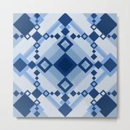 Sicilian Rhombus Metal Print