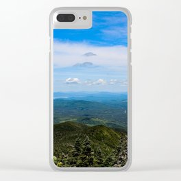 Old Speck look out Clear iPhone Case