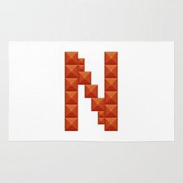 "Letter ""N"" print in beautiful design Fashion Modern Style Rug"