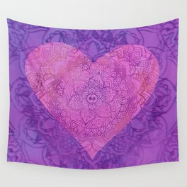 With All My Heart Wall Tapestry