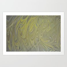 Marble Print #8 Art Print