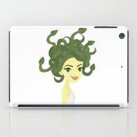 medusa iPad Cases featuring Medusa by Sara Showalter