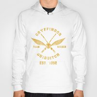 quidditch Hoodies featuring Abercrombie & Quidditch by spacemonkeydr