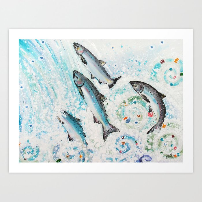 Spawning Kings Art Print