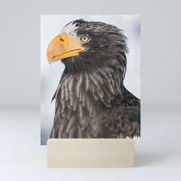 Stellar's Sea Eagle Mini Art Print