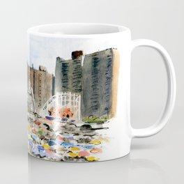 Coney Island on the Fourth of July Coffee Mug