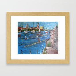Expression Rīga, Latvia Framed Art Print