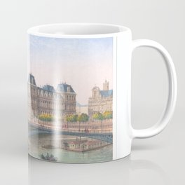 Paris art print Paris Decor office decoration vintage decor HOTEL DE VILLE of Paris Coffee Mug