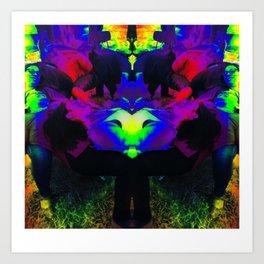 Group Dynamics Art Print