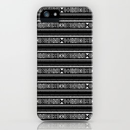 Theonite Cover Art Border Pattern iPhone Case