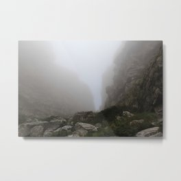 Ascent up Table Mountain - Cape Town, SA Metal Print