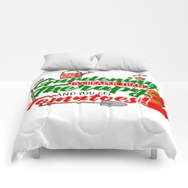 Gardening is Cheaper than Therapy and you get Tomatoes tshirt Comforters