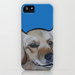 Josie (blue) iPhone Case