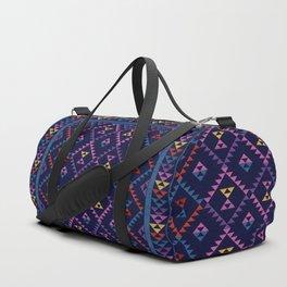 Bohemian Kilim Ethnic Pattern 1 Duffle Bag