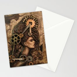 Furiosa, the Steampunk Girl Stationery Cards