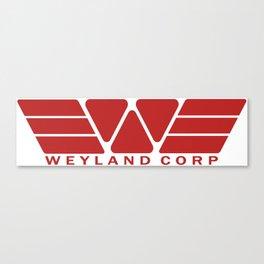 Weyland Corp - Red Canvas Print