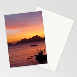 El Nido Sunset Stationery Cards
