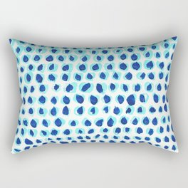 Blue for you Rectangular Pillow
