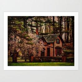 Springside Gatekeepers House Art Print