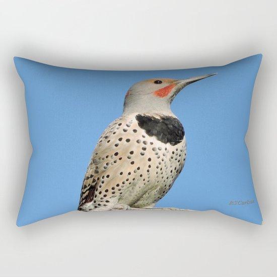 Northern Flicker Rectangular Pillow