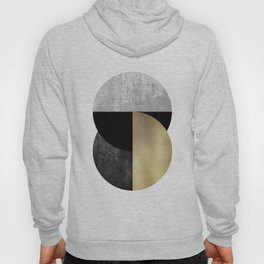 Moon Phase, Mid Century Modern,Scandinavian Abstract Hoody