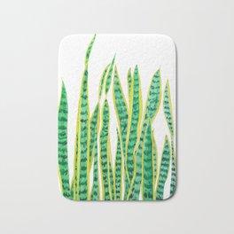 snake plant Bath Mat