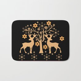 Christmas deer 2 Bath Mat