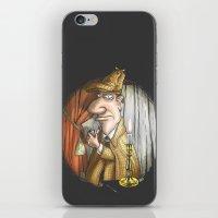 sherlock holmes iPhone & iPod Skins featuring Sherlock Holmes! by Berni Store