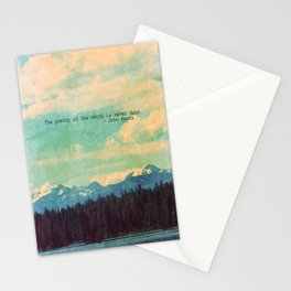 The Poetry of the Earth Stationery Cards