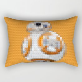 BB8 - Legobricks Rectangular Pillow