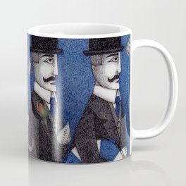 Four Men Waiting Coffee Mug