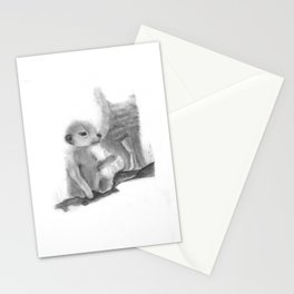 Meercat Baby Stationery Cards
