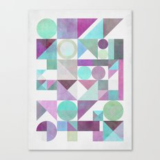Nordic Combination 21 X Canvas Print