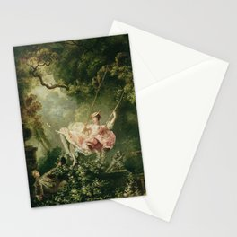 Jean-Honore Fragonard - The swing Stationery Cards