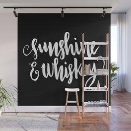 Sunshine & Whiskey [REVERSED] Wall Mural