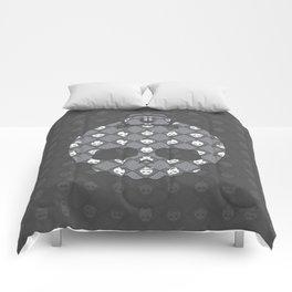 The Nik-Nak Bros. Saturation Drain Deluxe Comforters