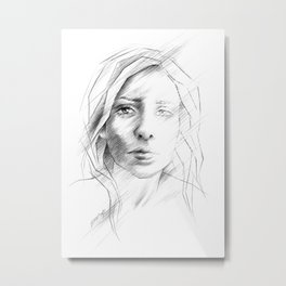 What if I was right? Metal Print