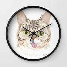 Lil Bub Wall Clock