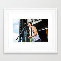 league Framed Art Prints featuring Major League by Ashton Garner