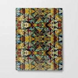 Etno Style - pattern Metal Print