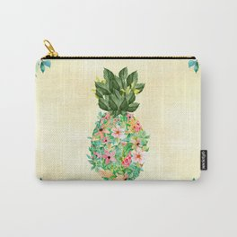 Pretty Pineapple Carry-All Pouch