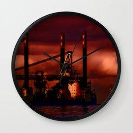 Passing Rig Wall Clock