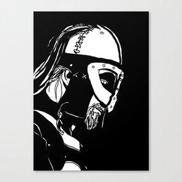 Dark Warrior Canvas Print