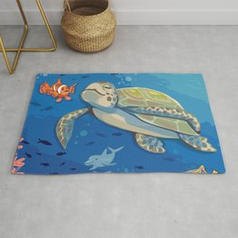 Under the Sea and Above the Coral Rug