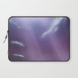 In gods hands Laptop Sleeve