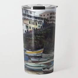 Spanish Boat Yard Travel Mug