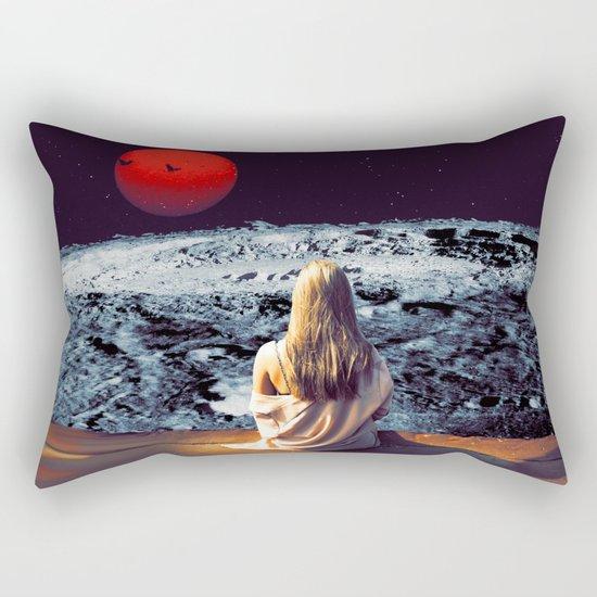 Moonface Rectangular Pillow