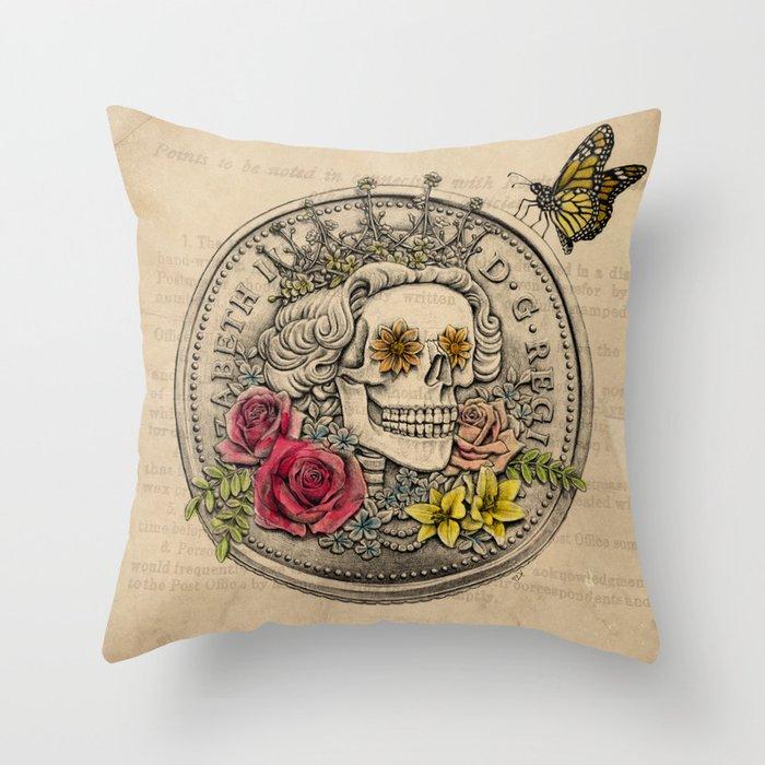 The Eternal Queen Throw Pillow