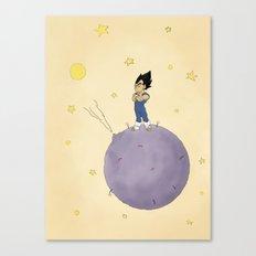 The Little Prince Of Saiyans Canvas Print