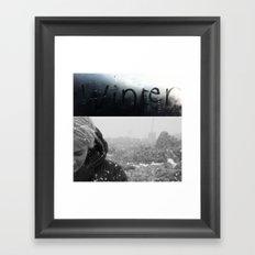 BRrrrr Framed Art Print